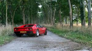 ferrari off road ferrari 288 gto group b spec punished in the country video