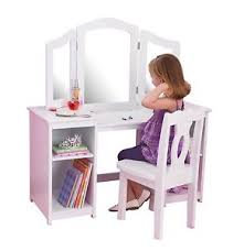 child s dressing table and chair kids vanity set deluxe mirror white chair children dressing table