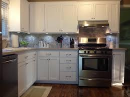 u shaped kitchen design ideas like overall design fridge would