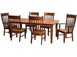 daniel u0027s amish tables millsdale rectangular dining table