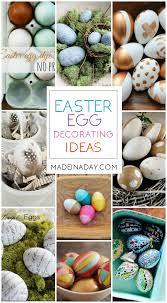 Easter Decorations For Home Easter Egg Decorating Ideas For Home Decor Made In A Day