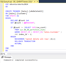 Delete All Rows From Table How To Prevent Accidental Data Loss From Executing A Query In Sql