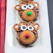reindeer sugar cookies thanksgiving