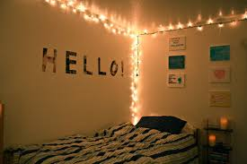 Decorative String Lights Bedroom Decoration Decoration Hanging String Lights In Small Bedroom