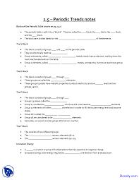 periodic trends worksheet general chemistry quiz docsity