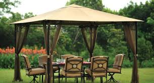 Mosquito Net Curtains by Pergola Belham Living Octagon Gazebo With Curtains Wonderful