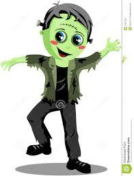 halloween scary background green halloween frankenstein monster stock image image 31977371