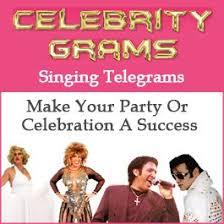singing birthday grams grams singing telegrams novelty message services