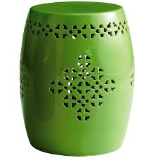 Ceramic Accent Table by Green Garden Stool Pier 1 Imports