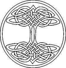 celtic knot tree of part six zentangle celtic design
