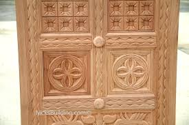 Carved Exterior Doors Carved Exterior Doors A One Of A Unique Exle Of A Rustic