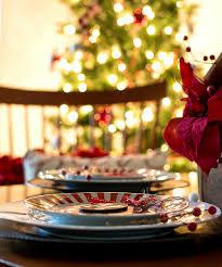 Christmas Table Settings Ideas Holiday Table Setting Idea Red White Black