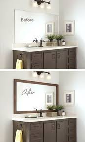 Mirrored Bathroom Cabinet by 25 Decor Ideas That Make Small Bathrooms Feel Bigger Makeup