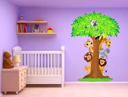 chambre de bébé jungle deco chambre bebe garcon pas cher luxe chambre garcon jungle