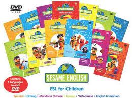 sesame esl for children dvd learn