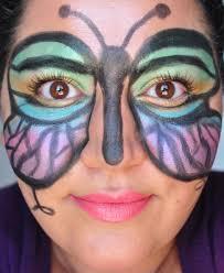 makeup artist halloween breaking down beauty halloween makeup butterfly mask painted ladies