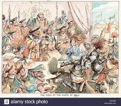 comic sketch by t s seccombe showing king henry viii at the field