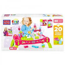 my first mega bloks table buy mega bloks first builders princess fairy table for kids online