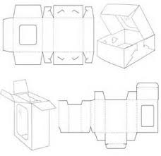 folding paper box templates bing images file under