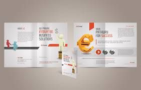 single page brochure templates psd invitation design buckr