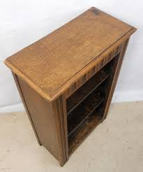 Small Open Bookcase Oak Open Bookcase In Antique Style Sold