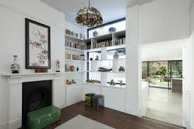 Interior Partition White Shelves Interior Partition Wall Design That Can Be Decor With