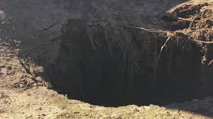 family left with major bill afer sinkhole opens on property cbs