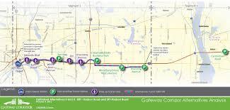 Minneapolis Light Rail Map Transitway Corridor Planning Washington County Mn Official