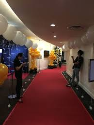 helium balloon walkway decorations that balloons balao