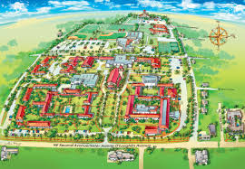 Miami City Map by Campus Map Locations Barry University Miami Shores Florida