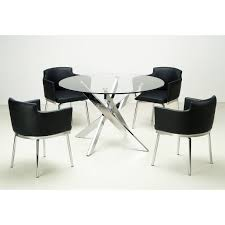 Glass Top Round Dining Tables by Glass Dining Tables