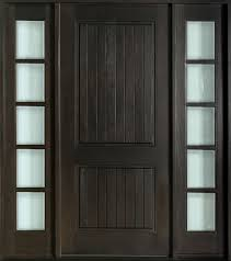 Solid Wooden Exterior Doors Custom Solid Wood Exterior Doors Exterior Doors Ideas