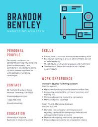 Resume Ongoing Education Corporate Resume Templates Canva