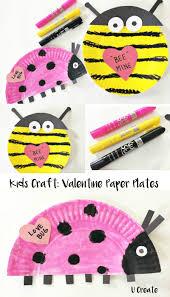 valentine paper plate crafts u create