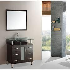 Overstock Vanity Kokols Modern Bathroom 32 Inch Vanity Cabinet Set Overstock