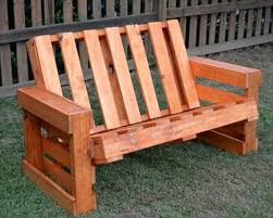 Outdoor Wooden Bench Plans by Best 25 Pallet Garden Benches Ideas On Pinterest Pallet Garden