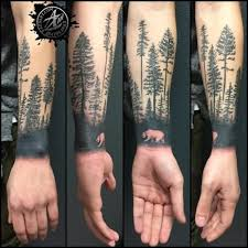 walking white in forest tree on arm golfian com