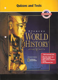 glencoe world history quizzes and tests mcgraw hill
