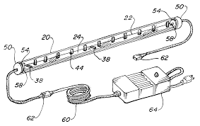 patent us6283612 light emitting diode light strip google patents