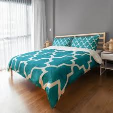 Quatrefoil Duvet Cover Buy Teal Duvet Covers Queen From Bed Bath U0026 Beyond