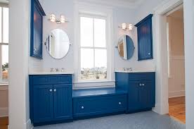 blue bathroom bathed in color when to use blue in the bathroom philly