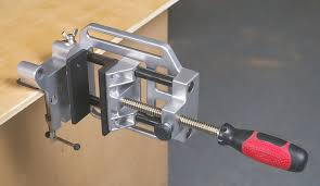 Install Bench Vise Shopsmith Quick Acting Combination Bench And Drill Press Vise