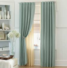 decorations modern decoration with curtains glass window