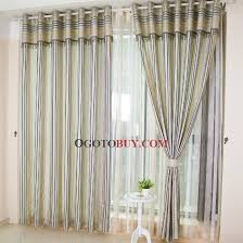 Stylish Blackout Curtains Simple But Stylish Bud Green Striped Blackout Curtains Buy Bud