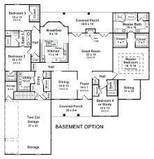home plans with basements walkout rambler floor plans basement floor walkout basement homes