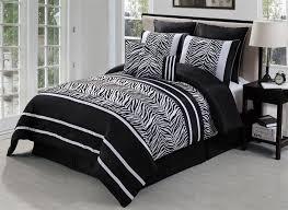 Zebra Bed Set Black White Zebra Bedding Set Beautiful Bedroom