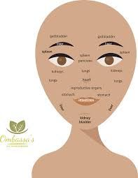Face Mapping Pimples Chart Acne On Face Chart