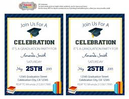graduation party invitation templates free cloveranddot com