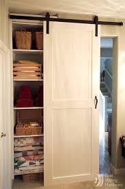 Barn Door Closet Hardware Brilliant Single Closet Doors With Best 25 Pass Barn Door Hardware