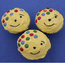 pudsey bear cupcakes baking mad